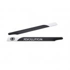 Revolution 325mm Flybar 3D Carbon Fibre Main Rotor Blades - RVOB032500
