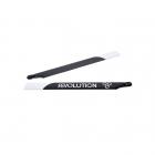Revolution 550mm Flybar 3D Carbon Fibre Main Rotor Blades - RVOB055000