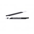 Revolution 550mm Flybarless 3D Carbon Fibre Main Rotor Blades - RVOB055050