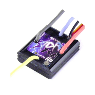 Mtroniks Tio Storm 14T Waterproof Brushed ESC LiPo Compatible Speed Controller - TIOSTORM14