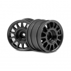 "HPI WR8 Rally 1/8 Off-Road Wheel for use with 1.9"" (48mm) Tyres (Pack of 2 Wheels) - 107970"