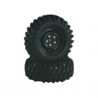 Absima 1/10 Crawler Steelhammer Wheel Set 96mm (Pack of 2) - 2500031