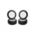 Kyosho Multi Spike Tyre with Foam Insert on MP7.5 Wheels (Set of 4) - BSW40W