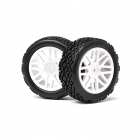 Maverick 1/10 Front Buggy 12mm Hex Wheel with Tyre (Set of 2 Wheels) - MV22622