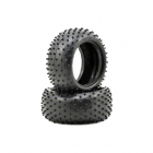Schumacher 1/10 Mini Spike Rear 2.2 Buggy Tyres Yellow Compound (Pack of 2) - U6558