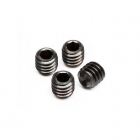 HPI M4x4mm Set Grub Screw (Pack of 4 Screws) - Z721