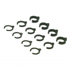 Absima Damper Parts Set 1mm/2mm/4mm for 1/10 (Pack of 12) - 2330001