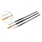 Tamiya Modelling High Finish Paint Brush (Set of 3 Brushes) - 87067
