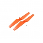 Blade 180 QX HD Orange Propeller Clockwise and Counter-Clockwise Rotation (Pack of 2) - BLH7405