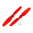 Blade 200 QX Red Propellers (Pack of 2 Props) - BLH7708