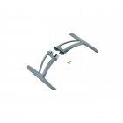 Blade 350 QX Landing Gear Skid Set with Hardware - BLH7815