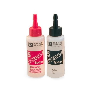 BSI Quick Cure 5 Minute Epoxy Glue (128g) - BSI201