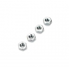 Dubro 2mm Steel Hex Nut (Pack of 4 Nuts) - DB2103