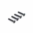 Dubro 3mm x 16mm Flat Head Countersunk Socket Screw (Pack of 4 Screws) - DB2290