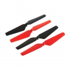Dromida Ominus Quad Copter Prop Set (Red/Black) - DIDE1111