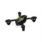 Hubsan X4C Camera Quad Copter Bodyshell Canopy (Black/Green) - H107-A21BG