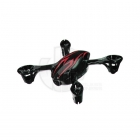 Hubsan X4C Camera Quad Copter Bodyshell Canopy (Black/Red) - H107-A21BR