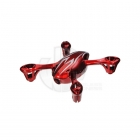 Hubsan X4C Camera Quad Copter Bodyshell Canopy (Red/Silver) - H107-A21R