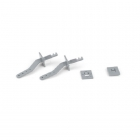 HobbyZone Super Cub EP and LP Control Horns (Pack of 2) - HBZ7121