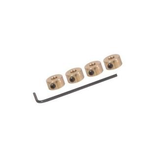 FlightLine Wheel collets 16swg 1.6mm with Grub Screws and Allen Key (Pack of 4) - HFL4500