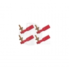 FlightLine M2 Metal Thread Ball Link with M2 Nut (Pack of 4) - HFL5027