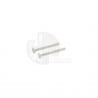 FlightLine 2BAx47mm White Nylon Wingfix Bolts (Pack of 2) - HFL5501