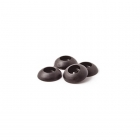 FlightLine 2BA Black Moulded Wingfix Washers (Pack of 4) - HFL5510