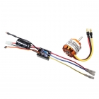 Mtroniks Hydra 10A Brushless Combo ESC Speed Controller & Motor - HYDRA15COMBO
