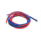 Logic RC High Quality 1mm Silicone Wire (1 Metre Red and 1 Metre Blue) - LGL-SW010