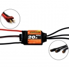 Overlander ESC XP2 20A Brushless Speed Controller for Planes and Helis - OL-2725