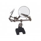 Proedge Extra Helping Hands Glass Magnifier with Iron Base - PRO55170