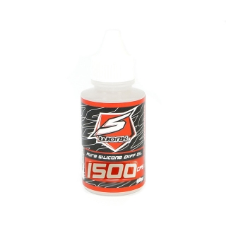 S-Workz Silicone Diff Oil 1500 CPS 60cc (2oz) Bottle - SW-410043