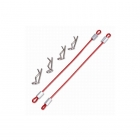 Team C Body Pin Holder 100mm Red (Pack of 2) - TC1010R