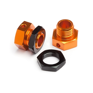 HPI Racing 6.7mm Hex Wheel Adapter for the Trophy Buggy (Pack of 2 Hubs) - 101792