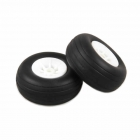 J Perkins 1.3/4-inch (44mm) RC Plane White Wheels (Pack of 2) - 5507110