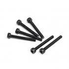 Fastrax M3x25 Socket Cap Head Screw (Pack of 6 Screws) - FAST119