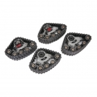 Traxxas TRX-4 Traxx All Terrain Tracks (Set of 4) - TRX8880