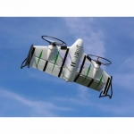 E-flite X-Vert VTOL Airplane/Drone with SAFE Technology and DXe Transmitter (RTF) - EFL1800EU