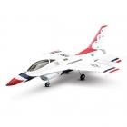 E-flite Ultra-Micro UMX F-16 Ducted Fan Jet Plane with AS3X (Bind-N-Fly Basic) - EFLU2850