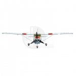 FMS Cessna 182 MK II 1400 Series RTF Electric Aircraft with 2.4ghz Radio System (Red) - FS0105R
