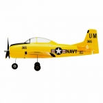 HobbyZone T-28 Trojan S Micro Airplane with SAFE Technology (BNF-Basic) - HBZ5650