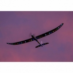 E-flite Night Radian FT 2m Glider Plane with AS3X and SAFE Select (BNF Basic) - EFL3650