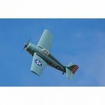 ParkZone F4F Wildcat RC Plane with AS3X and SAFE Technology (Bind-N-Fly Basic) - PKZ1950