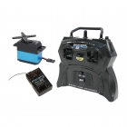 Carson Reflex Pro 3 2-Channel 2.4Ghz Stick Transmitter with Receiver and Servo - C707122