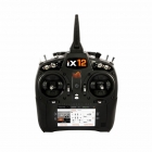 Spektrum iX12 12-Channel DSMX Transmitter with Li-Ion Battery and Charger - SPMR12000EU