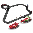 Carrera Go Disney/Pixar Neon Racers Slot Car Racing Set - CA62354