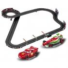 Carrera Go Disney/Pixar Neon Racers Slot Car Racing Set - CA62354