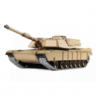 Heng Long 1/16 US M1A2 Abrams Tank with Smoke, Sound and 2.4GHz Radio System - 4400718