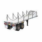 Tamiya 1/14 Flatbed Semi-Trailer for Tractor Trucks (Unassembled Kit) - TAM-56306