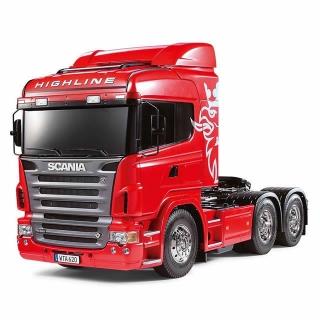 Tamiya 1/14 Scania R620 6x4 Highline Tractor Truck (Unassembled Kit) - TAM-56323